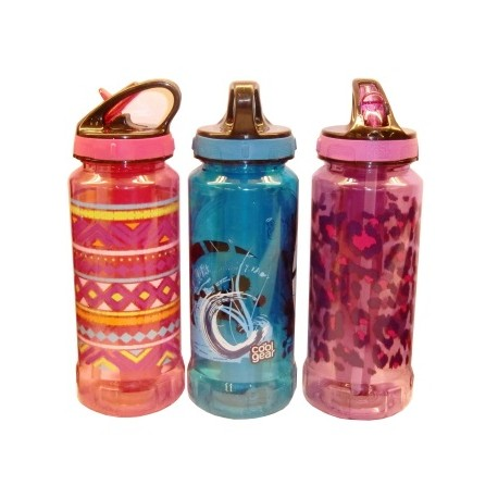 Botella estampada con enfriador Diferentes colores - Envío Gratuito