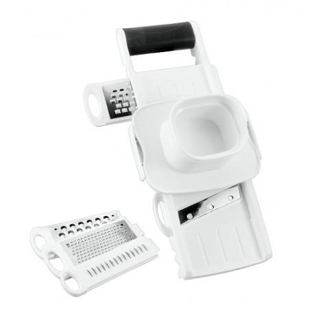 Metaltex Rallador y cortador Blanco - Envío Gratuito