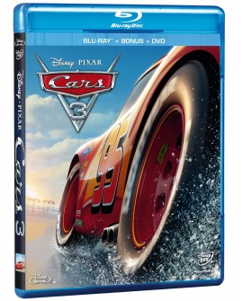 Cars 3 (Blu-ray/DVD) + Bonus 2017 - Envío Gratuito