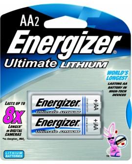 Energizer Litio AA 2 - Envío Gratuito