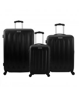 Peak Tour Set de 3 maletas rigidas Tenerife Negro - Envío Gratuito