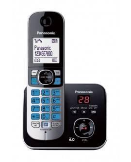 Panasonic Teléfono Inalámbrico KX-TG6821 Con contestadora Negro - Envío Gratuito