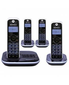 Motorola Teléfono inalambrico GATE4500CE-4 Negro - Envío Gratuito