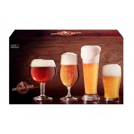 Libbey Set de 4 vasos cerveceros Artisan - Envío Gratuito