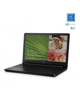 """Dell Laptop INSPIRON 3552 CEL de 15.6"""" Intel Celeron Memoria de 4 GB Disco duro de 500 GB Negro - Envío Gratuito"""