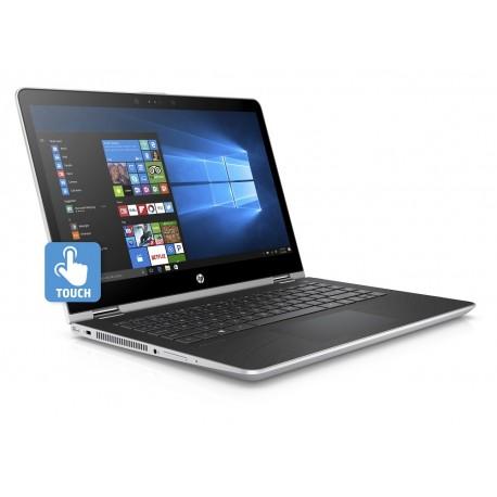 "HP Laptop x360 Convertible 14 ba001la de 14"" Core i3 Intel HD 620 Memoria 4 GB Disco Duro 500 GB Plata - Envío Gratuito"