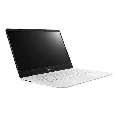 """LG Laptop 14Z960 AJ32B1 de 14"""" Core i3 Intel HD 520 Memoria 4 GB Unidad de estado sólido 128 GB Blanco - Envío Gratuito"""