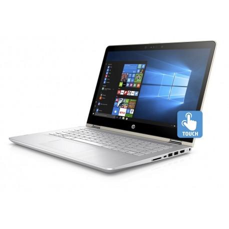 """HP Laptop Pavilion x360 Convertible 14 ba004la de 14"""" Core i5 Memoria de 6 GB Disco Duro de 500 GB Dorado - Envío Gratuito"""