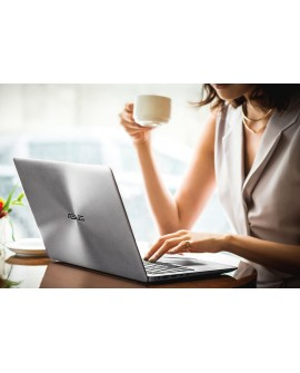 """Asus Laptop ZENBOOK UX410UA GV017T de 14"""" Core i3 Memoria de 4 GB Unidad de estado sólido de 128 GB Gris"""
