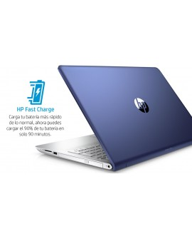 "HP Laptop Pavilion 15 cd005la de 15.6"" AMD 12 AMD Radeon 530 Memoria 12 GB Disco Duro 1 TB Azul"