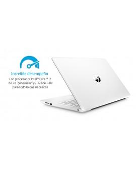 "HP Laptop 15 bs020la de 15.6"" Core i7 AMD Radeon 530 Memoria 8 GB Disco Duro 1 TB Blanco"