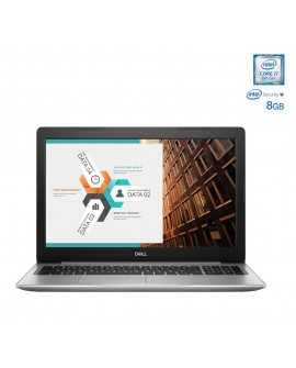 "Dell Laptop INSPIRON 5570 I7 de 15.6"" Core i7 Memoria de 8 GB Disco duro de 2 TB Plata"