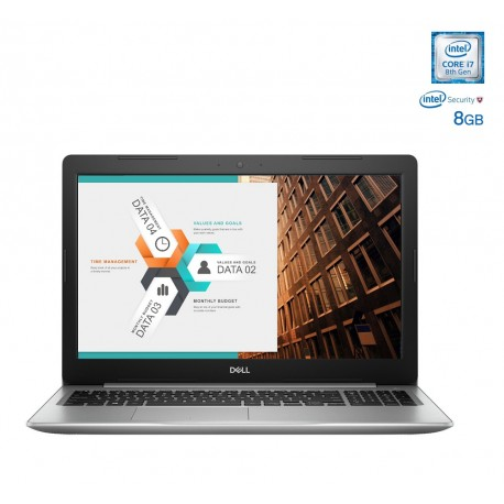 "Dell Laptop INSPIRON 5570 I7 de 15.6"" Core i7 Memoria de 8 GB Disco duro de 2 TB Plata - Envío Gratuito"