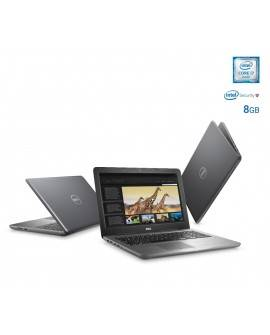 "Dell Laptop INSPIRON 5567 G de 15.6"" Core i7 Memoria de 8 GB Disco duro de 2 TB Gris"