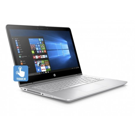 "HP Laptop HP Pavilion x360 Convertible 14 ba006la de 14"" Core i7 Memoria de 8 GB Disco Duro de 1 TB Plata - Envío Gratuito"