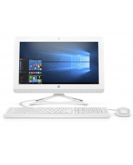 "HP All in One 20-C206LA de 19.5"" AMD A4 7210 Memoria 4 GB Disco duro 1 TB Blanco - Envío Gratuito"