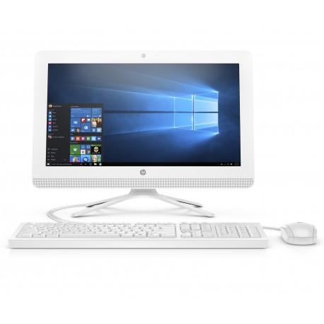 "HP All in One 20-C206LA de 19.5"" AMD A4 7210 Memoria 4 GB Disco duro 1 TB Blanco - Envío Gratuito"