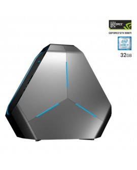 Dell Desktop ALIENWARE AREA 51 CI7 Core i7 Memoria de 32 GB Disco duro de 2 TB + 256 GB SSD Negro