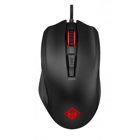 HP Mouse Omen 600 alámbrico Negro - Envío Gratuito