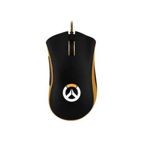 Razer Mouse Gaming Overwatch DeathAdder Chroma Negro/Naranja - Envío Gratuito