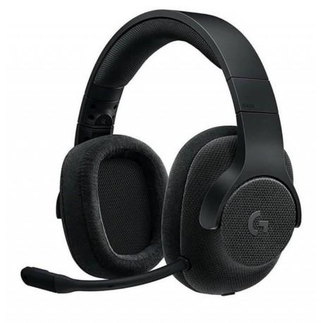 Logitech Audífonos Gaming G433 alámbricos Negro - Envío Gratuito