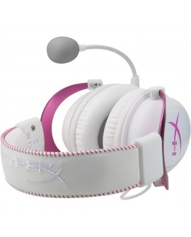 Kingston Audífonos HyperX Cloud II Rosa/Blanco