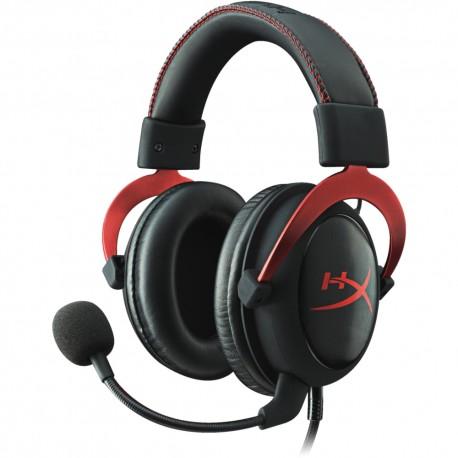 Kingston Audífonos Hyperx Cloud II Rojo/Negro - Envío Gratuito