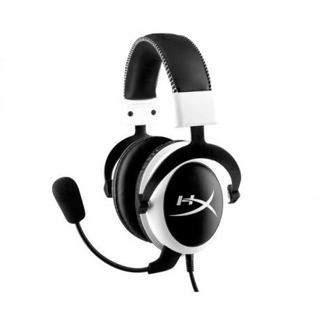 Kingston Audífonos HyperX Cloud Blanco/Negro - Envío Gratuito