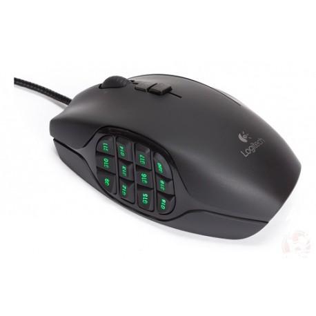 Logitech Mouse óptico Gaming G600 Negro - Envío Gratuito