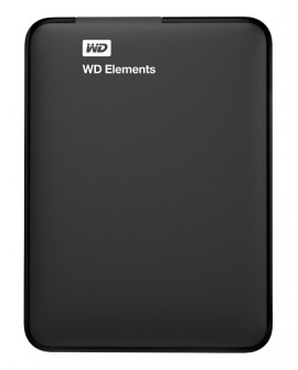 Western Digital Disco duro portatil Elements USB 3.0 2 TB Negro