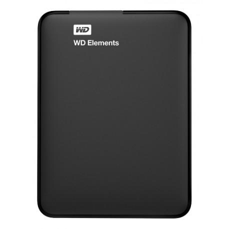 Western Digital Disco duro portatil Elements USB 3.0 2 TB Negro - Envío Gratuito