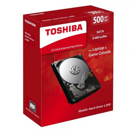 Toshiba Disco Duro Interno 500GB - Envío Gratuito