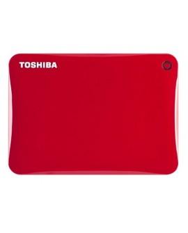 Toshiba Disco duro Canvio Connect II USB 3.0 1 TB Rojo - Envío Gratuito