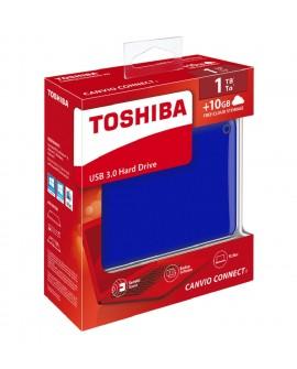 Toshiba Disco Duro Canvio Conect II 1TB Azul