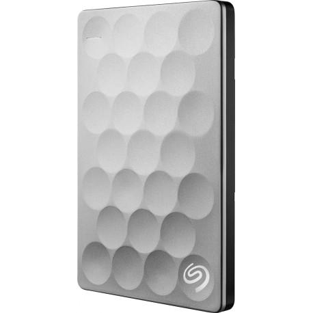 Seagate Disco Duro Portátil Ultraslim 1TB Plata - Envío Gratuito