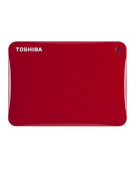 Toshiba Disco duro Canvio Conect USB 3.0 2 TB Rojo