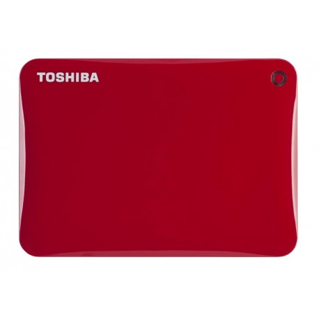 Toshiba Disco duro Canvio Conect USB 3.0 2 TB Rojo - Envío Gratuito