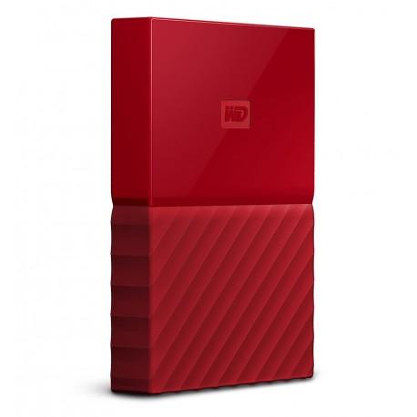 Western Digital Disco Duro My Passport Ultra 2TB Rojo - Envío Gratuito