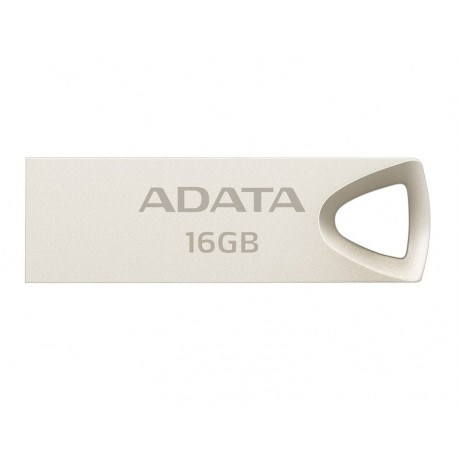 Adata Memoria USB UV210 16 GB USB 2.0 Metal Gold - Envío Gratuito