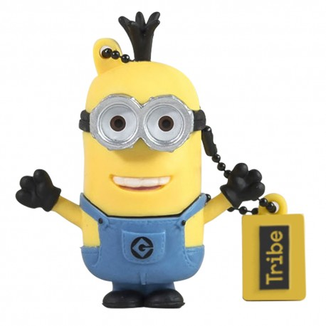 Tribe Memoria USB 16 GB Minion Kevin Amarillo/Azul - Envío Gratuito