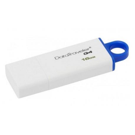 Kingston Memoria USB DTIG4 16 GB USB 3.0 Blanco - Envío Gratuito
