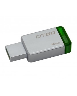 Kingston Memoria USB 3.0 DataTraveler 50 16 GB Verde