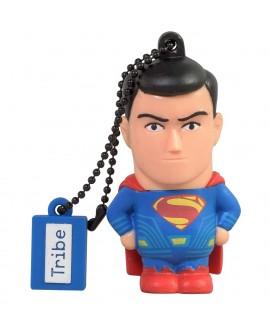 Tribe Memoria USB 8 GB Superman Negro