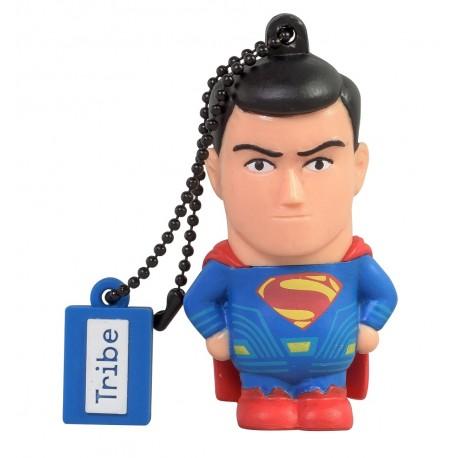 Tribe Memoria USB 8 GB Superman Negro - Envío Gratuito