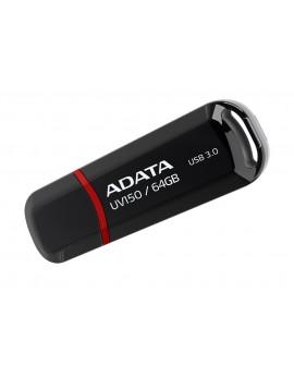 Adata Memoria USB UV150 64 GB USB 3.0 Negro