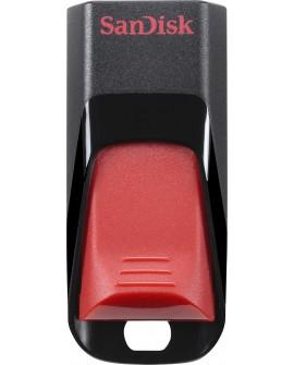 SanDisk Memoria USB Z51 16 GBUSB 2.0 Negro/Rojo