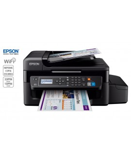 Epson Multifuncional inyección de tinta a color L575 con Wi-Fi Negro