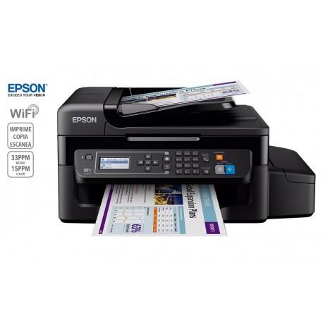 Epson Multifuncional inyección de tinta a color L575 con Wi-Fi Negro - Envío Gratuito