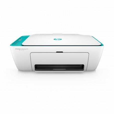 HP Multifuncional Ink Advantage 2675 Blanco/Aqua - Envío Gratuito