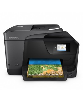 HP Multifuncional Officejet Pro 8710 Negro